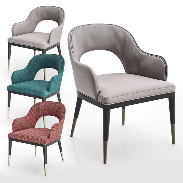 3D dining chair ii