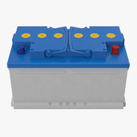 12 volt car battery model
