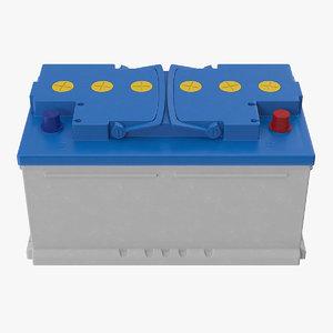12 volt car battery model
