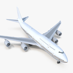 boeing 747-8i generic 3D model