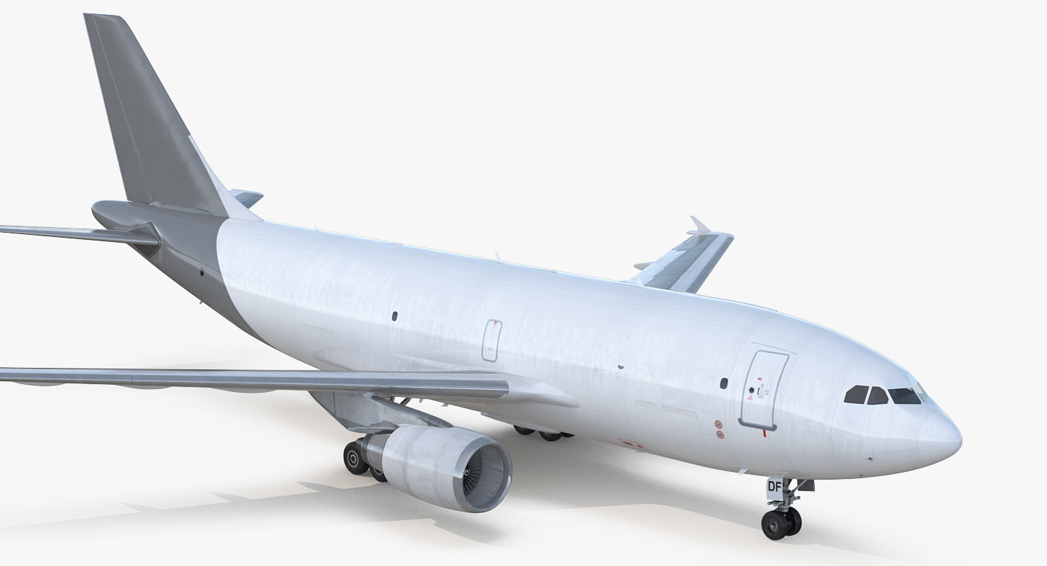 3D cargo aircraft airbus a310-300f model