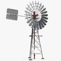 3D comet windmill model