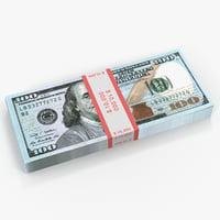 New 100 Dollar Bills Pack