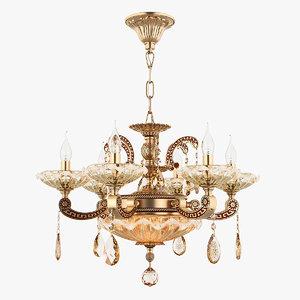 chandelier md 89363-6 2 3D model