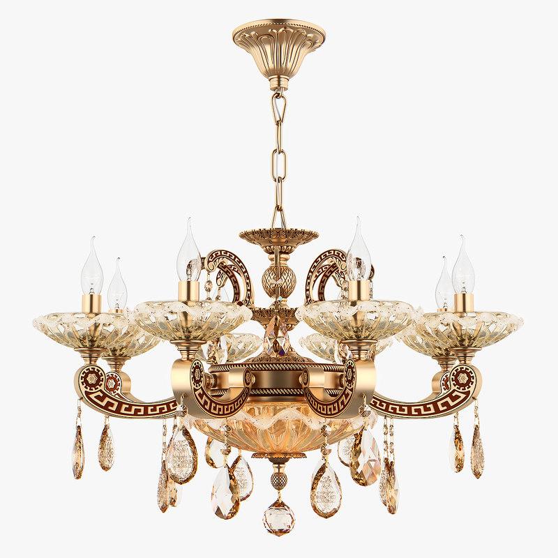 chandelier md 89363-8 2 3D