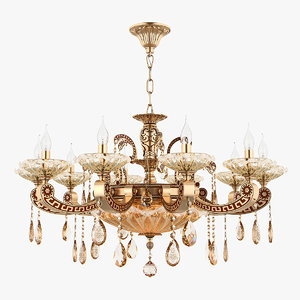 chandelier md 89363-10 3 3D model