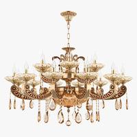 3D chandelier md 89363-12 6 model
