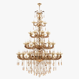 chandelier md 89363-44 osgona 3D model
