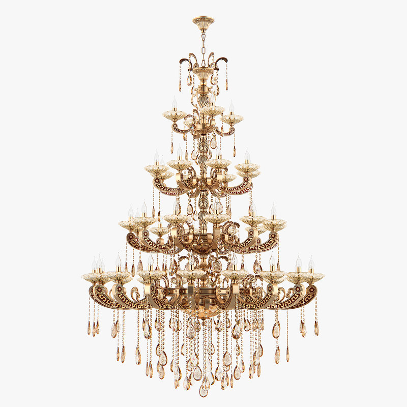 chandelier md 89363-44 osgona 3D model