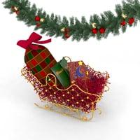 xmas christmas decoration model