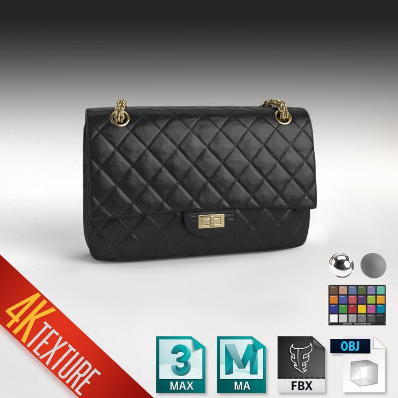 Chanel 2 55 Handbag Model
