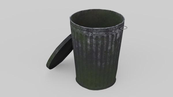 3D dustbin 3 old