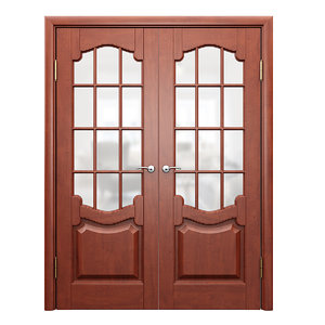 double door classic 3D model