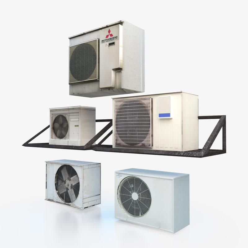 3D model air units