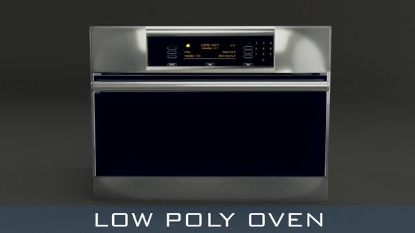 3D oven modelling model