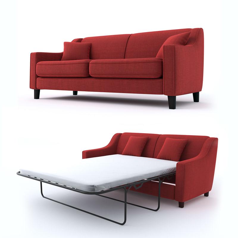 3D model sofa 3