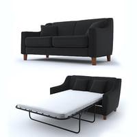 3D sofa 2 model
