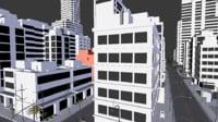 5_Blender_City_and_Road_model_Packs