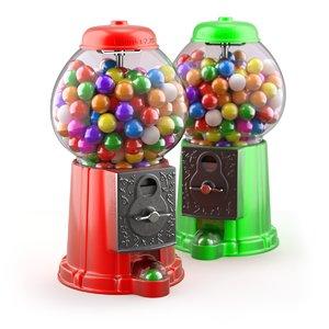 ball gum gumball 3D model
