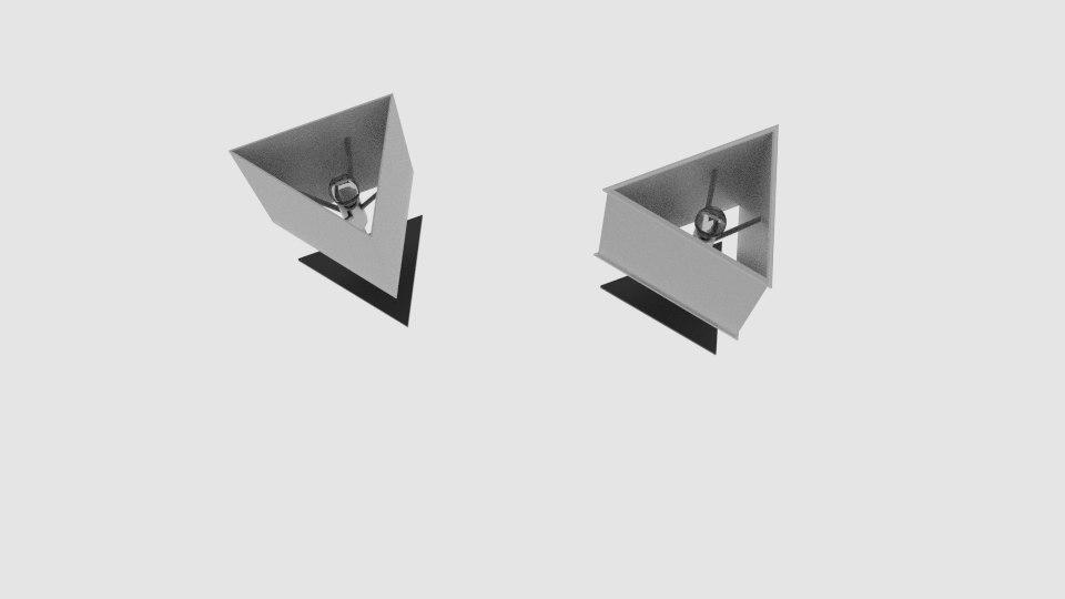 flat table steel lamp model