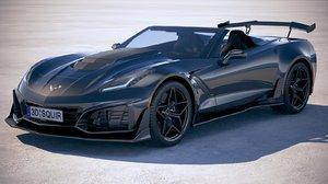 chevrolet corvette zr1 3D