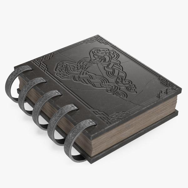 book 006 3D model