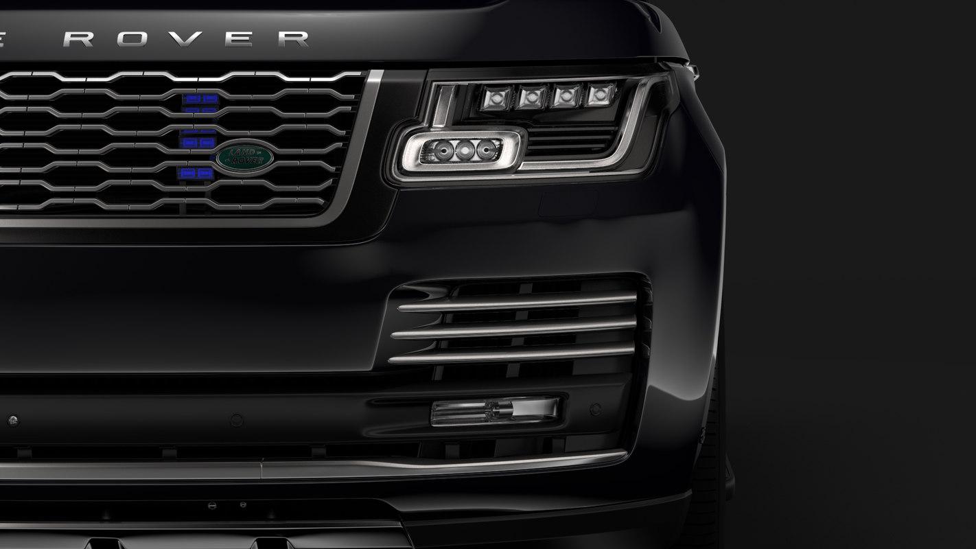 range rover sentinel l405 3D model