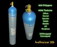 Oxygen Tank - Textured
