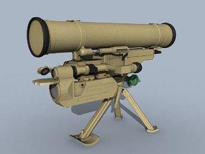 3D model at-13 saxhorn-2