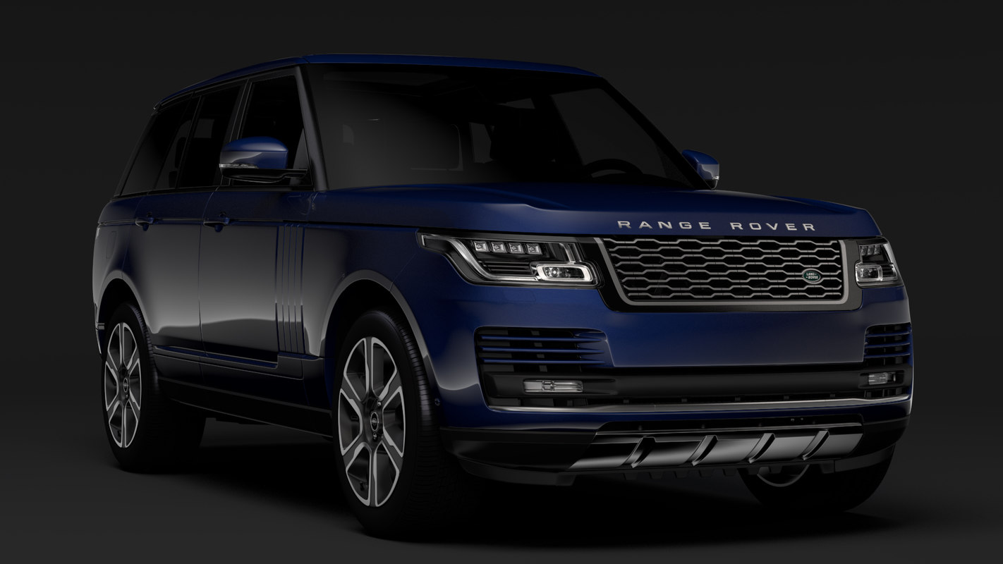 range rover vogue l405 3D model