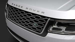 3D range rover vogue se