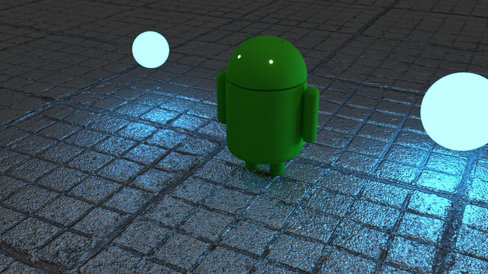 android mascot 3D