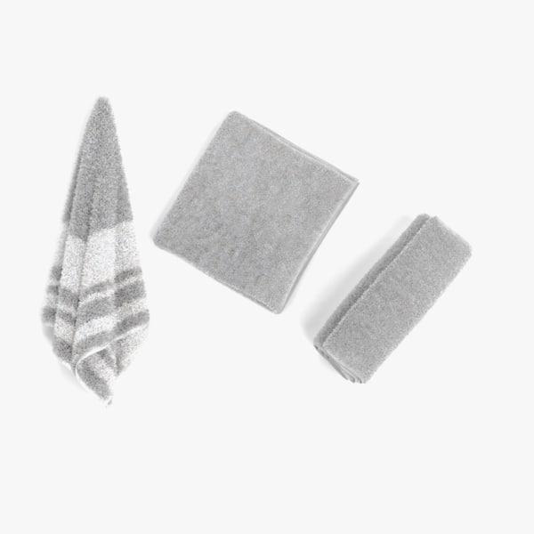 towels pbr hanged 3D model
