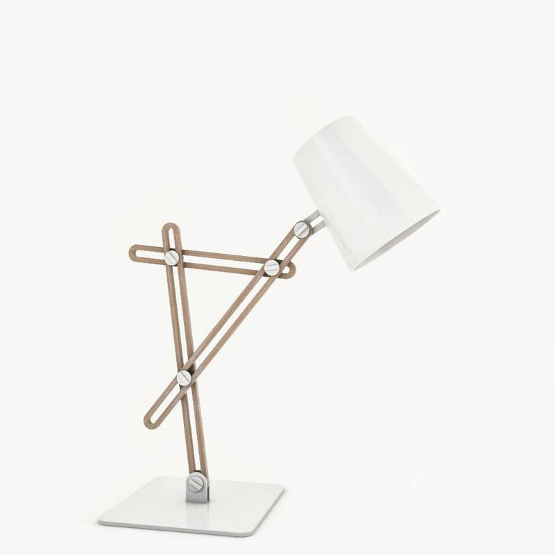 3D model table lamp