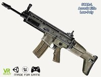 optimized scar-l rifle assault model