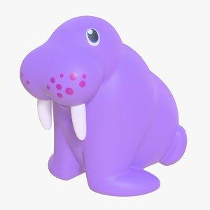 rubber walrus 01 3D