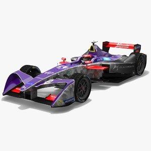 3D ds virgin racing formula model