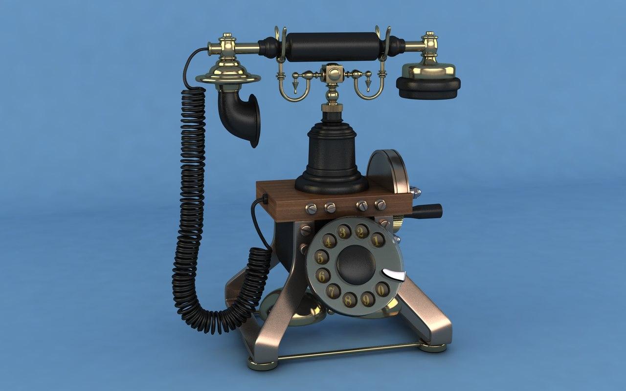 retro phone model