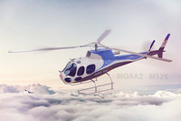 3D model helicopter 125