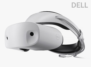 3D dell visor windows mixed model