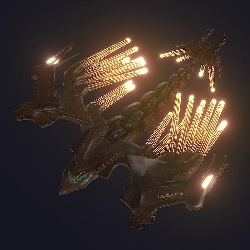 phoenix pbr 3D model