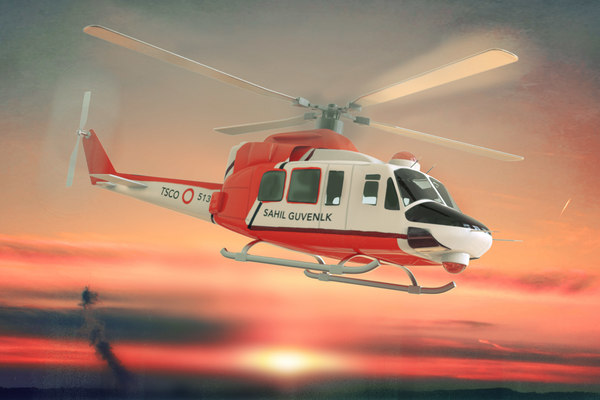 412 helicopter model
