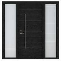 3D model wood door