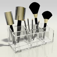 3D cosmetic holder - makeup