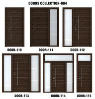 dark wood door 3D model