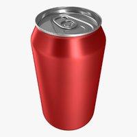 realistic soda 3D