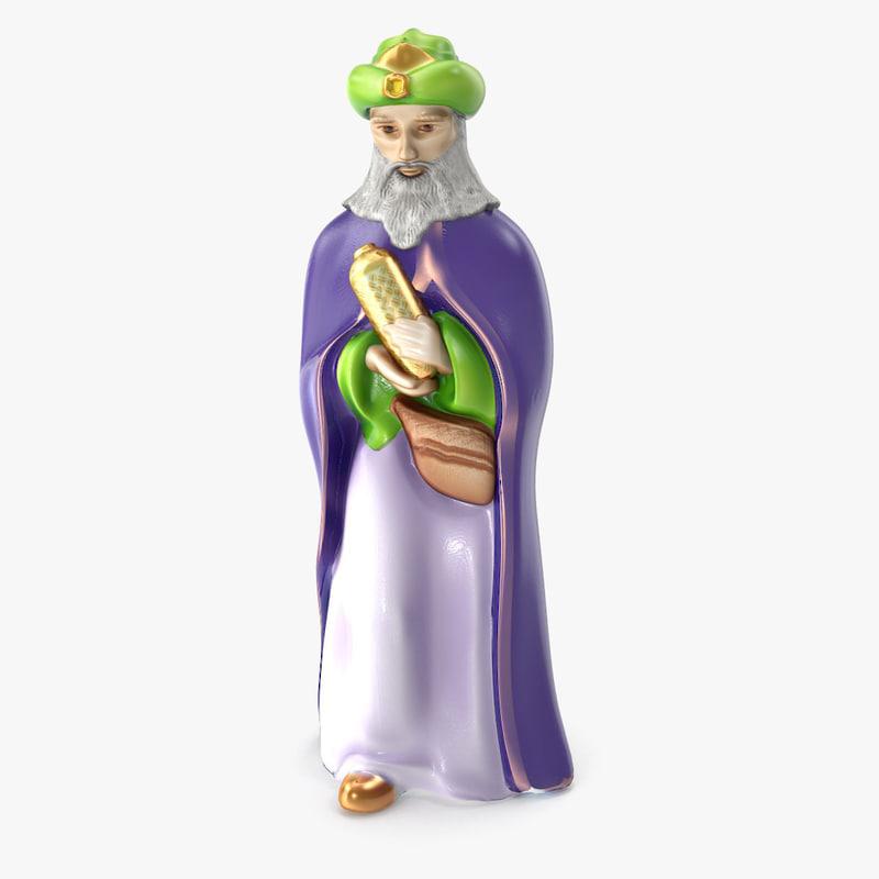 3D wise man model