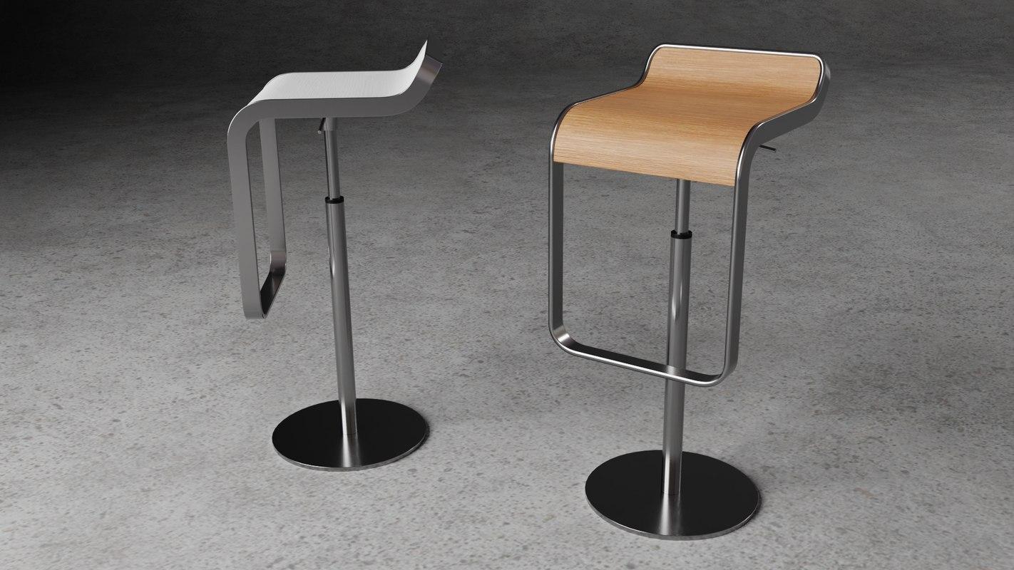 lem piston stool model