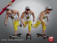 male skater cc 21 model