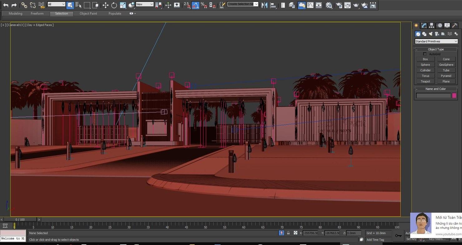 gate resort 3D
